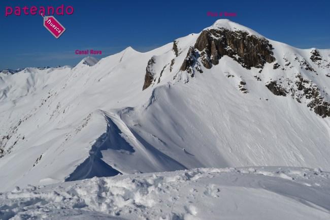 Pico d´Aneu y Canal Roya