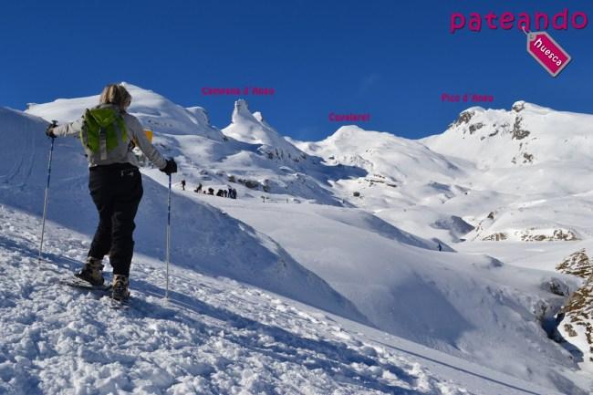 Pico Cuyalaret a lo lejos