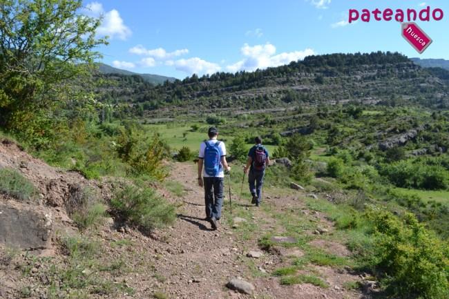 De Bara al río Alcanadre
