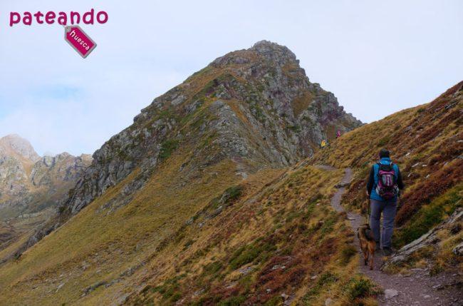 Llegando al Pico de los Monjes