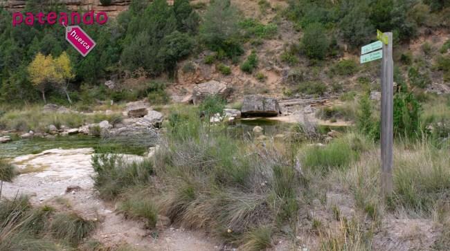 Cauce del río Alcanadre