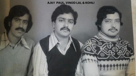 Ajay Paul-Vinod Lal-Kohli