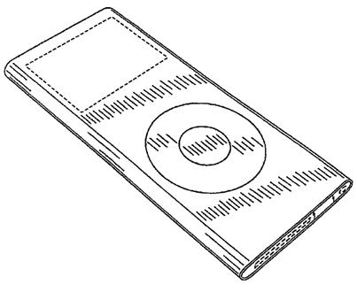 Apple iPod Nano Design Patent
