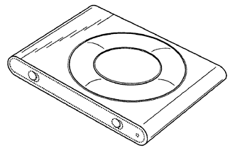 Apple iPod Shuffle Design Patent