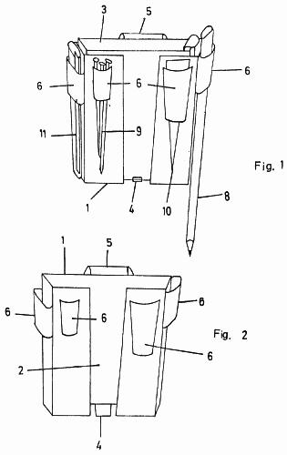 PORTA-UTILES DE TRABAJO. (1 de Mayo de 1989) : Patentados.com