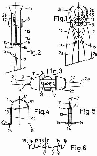 Alicates; Otras herramientas de agarre manuales con