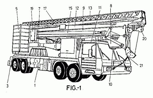 CAMION-GRUA . (16 de Abril de 1999) : Patentados.com