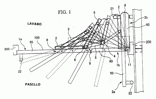 PUERTA PLEGABLE COMBINADA ELECTRICA/MANUAL. : Patentados.com