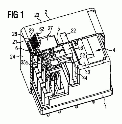 Enclavamiento mecánico de elementos móviles : Patentados.com