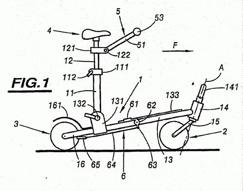 con dispositivos para sentarse : Patentados.com