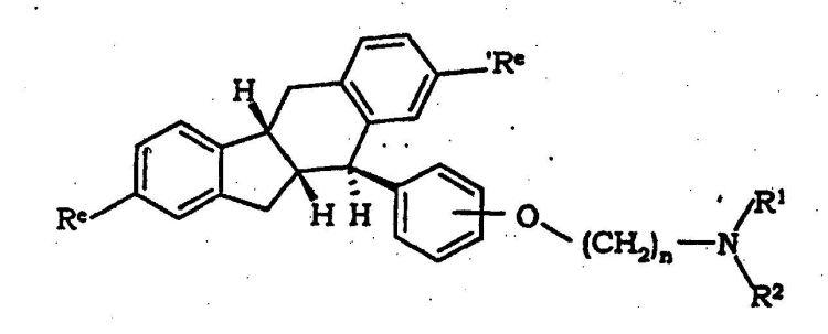 Esteroides teniendo la estructura del ciclopenta [a