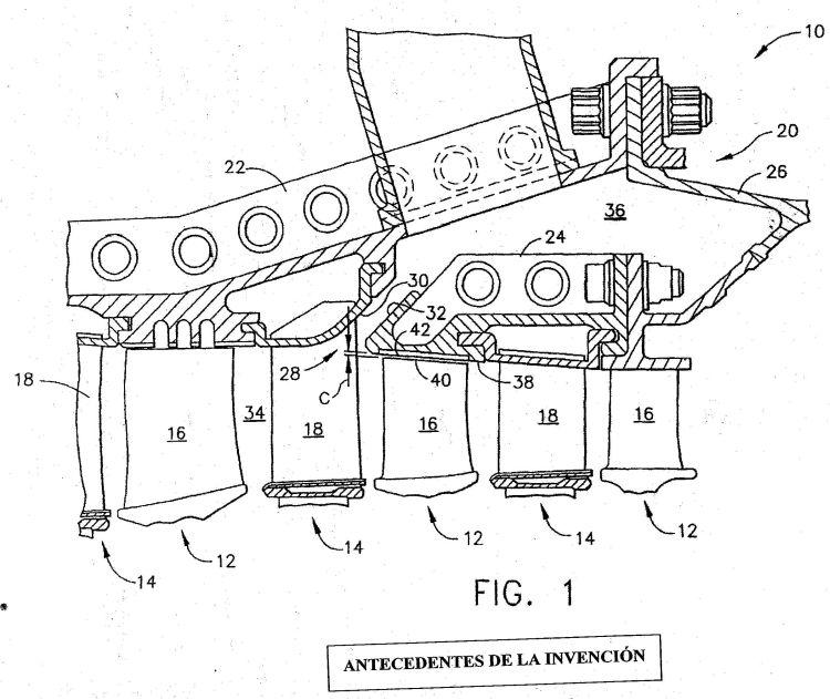 CARCASA DE DESCARGA DE COMPRESOR. : Patentados.com