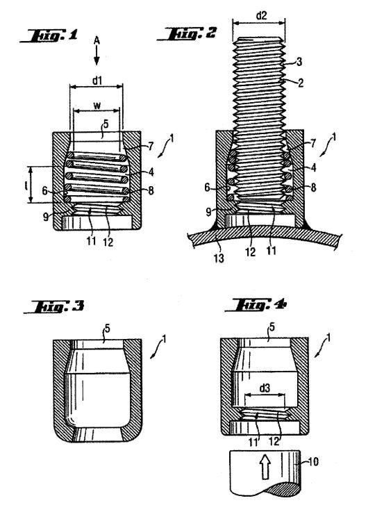ELEMENTO DE UNION. (22) (16 de Abril de 2009) : Patentados.com