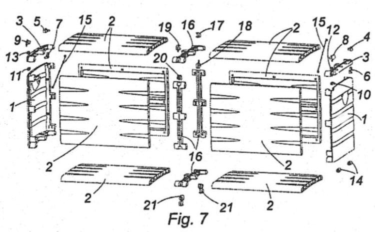 ALBIANA TORMO,JOSE. 10 inventos, patentes, diseños y/o