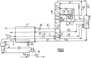 Procedimiento y aparato de producción de un fluido