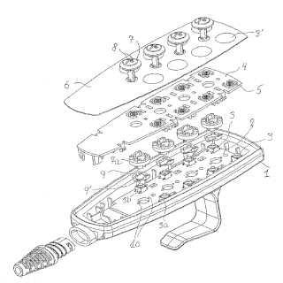 Mando eléctrico manual, en especial para camas regulables…