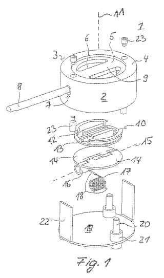 Sistema de desgasificación para un acumulador y acumulador