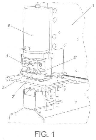 Cabezal de punzonado múltiple con selección manual del…