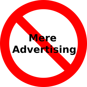 Advertising does not work for most trademark specimens