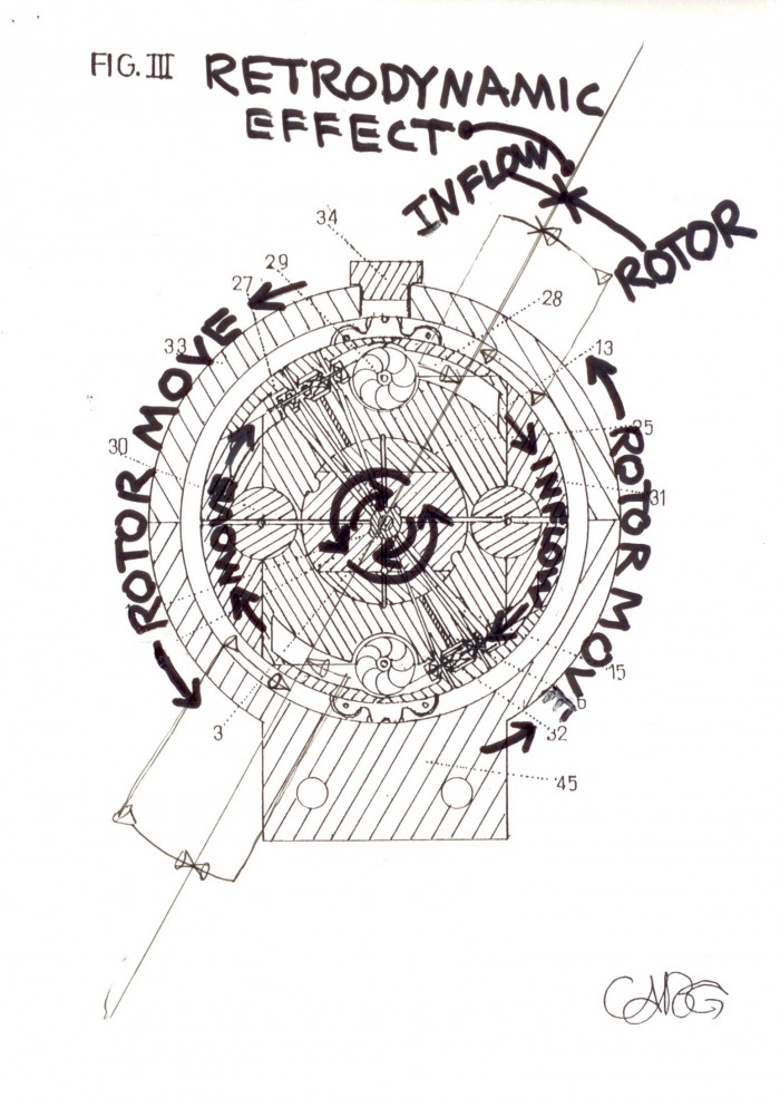 Buy the patent: State ofthe Art NovelInFlow GEARTURBINE