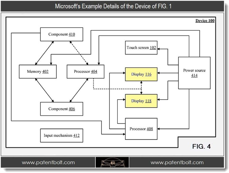 Microsoft Invents Cool Two Sided Smartphone Display System