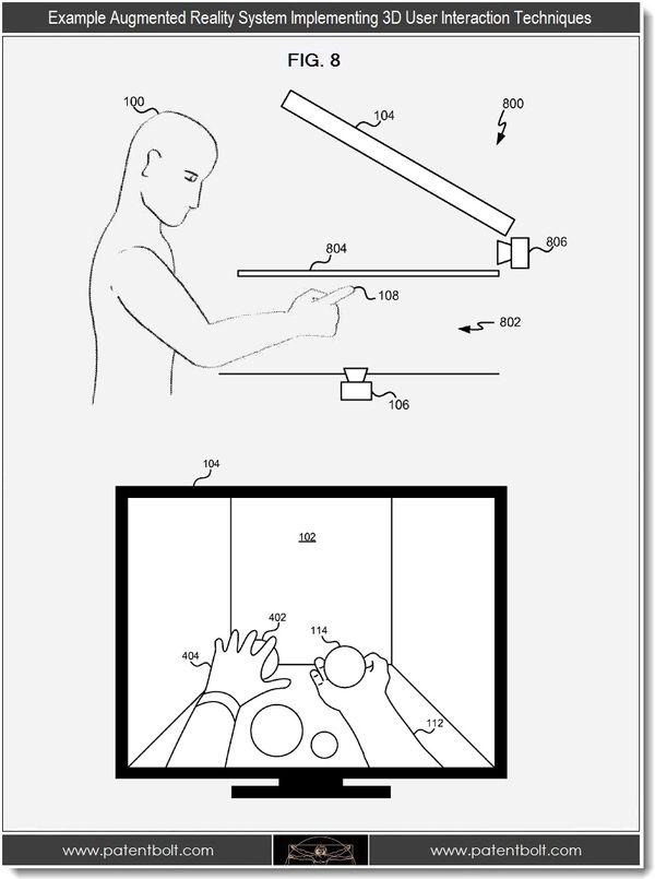 Microsoft Reveals Futuristic 3D Virtual HoloDesk Patent