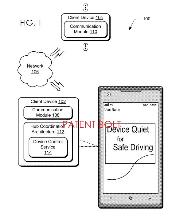 Microsoft Invents In-Vehicle Quiet Time Controls for