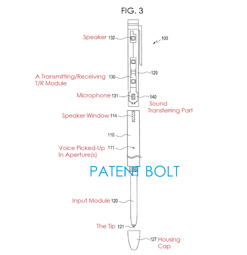New Samsung Digital Pen Patents Reveal Built-In