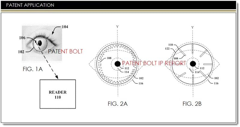 An Avalanche of new Google Contact Lens Patents Come to