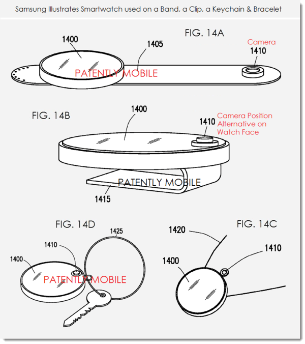 Samsung Reveals New Circular Interface Smartwatch with