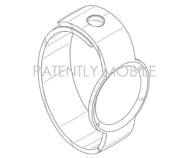 Samsung Wins Design Patents for a Round Smartwatch Band