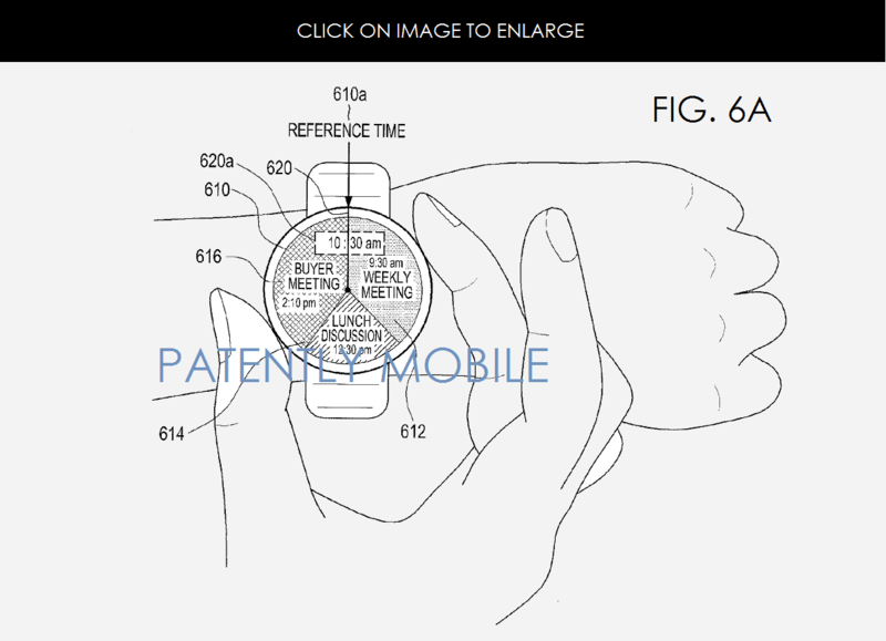 Samsung Invents a Method for Displaying a User's Schedule
