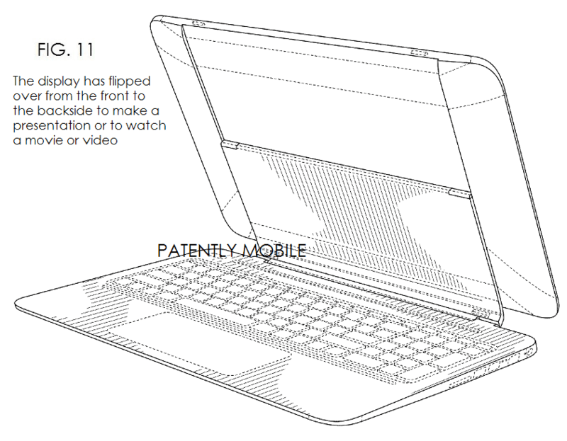 HP has been granted a Design Patent for a new kind of