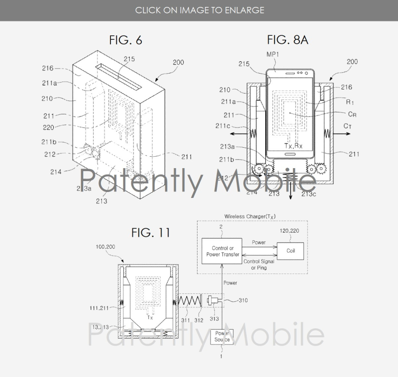 Samsung has won a Patent for a Wireless Charging Device