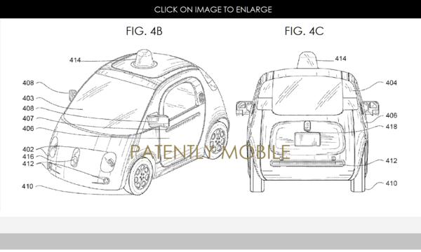 Google Files Patent for Second-Gen Autonomous Vehicle