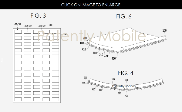 Samsung is Granted a new Flexible Display Patent that