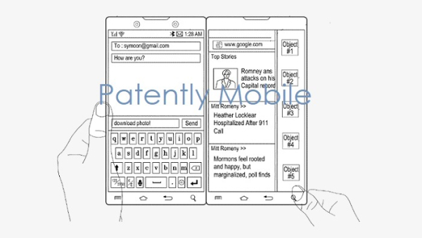Samsung Wins Patent for dual Display Smartphone that could