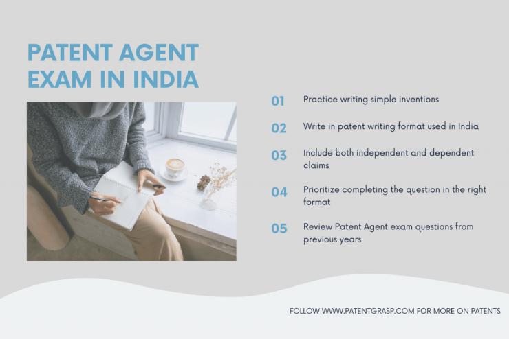 patent agent exam in India