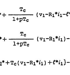 in the block diagram of fig 2 a secondary linkage magnetic flux is operated by the following equation  [ 1643 x 665 Pixel ]