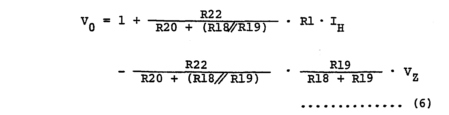 hight resolution of where i h is current flowing in the hot wire rh and v z is a zener voltage of the zener diode zd1 as described previously and symbol denotes a