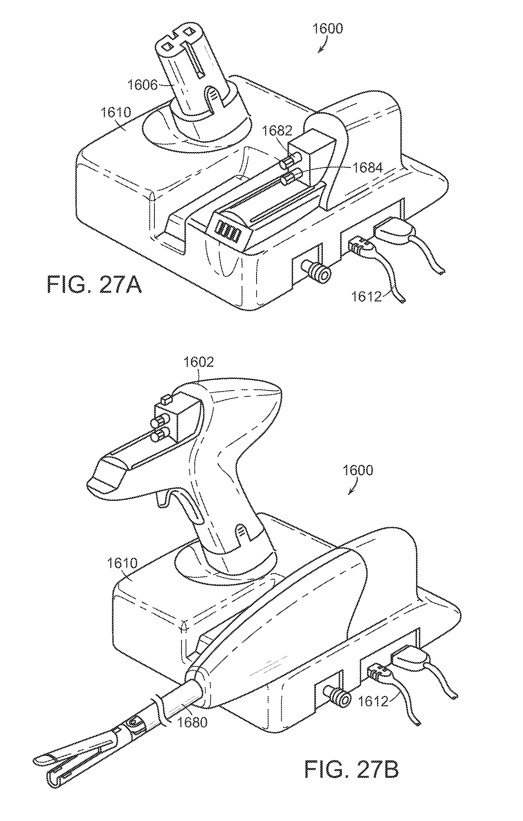 Us9931118b2 reinforced battery for a surgical instrument patents