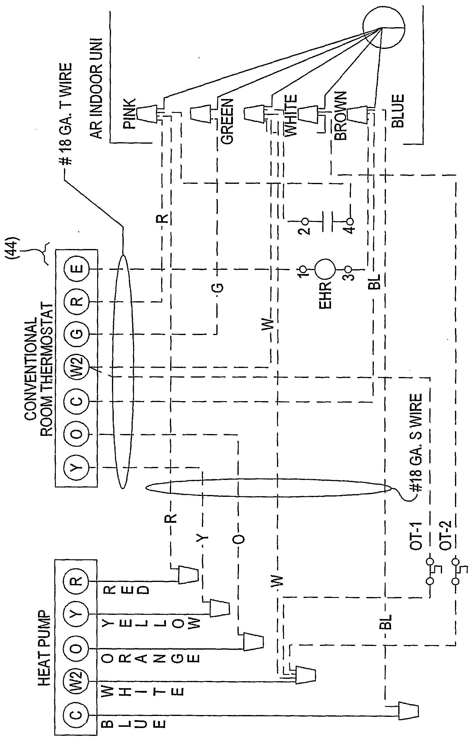 hight resolution of wo2006079116a2 solar panel and heat pump powered electric forced diagram for2001 lennox package heat pump heat pumps