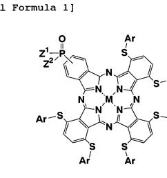 wherein m represents a hydrogen atom or a central metal selected from li be na mg al si k ca sc ti v cr mn fe co ni cu zn ga ge  [ 1394 x 874 Pixel ]