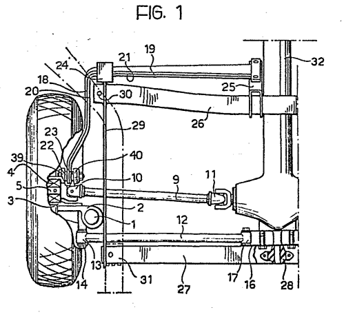 small resolution of  springing elements and the longitudinal anchorage arm consist of transversal 19 21 and longitudinal 18 20 sections of one or more torsion blades