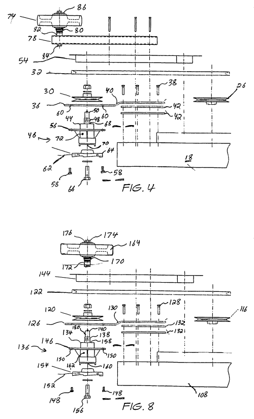 small resolution of us7877971b1 mower trimmer combination for facilitating simultaneous mowing and edge trimming in a single pass google patents