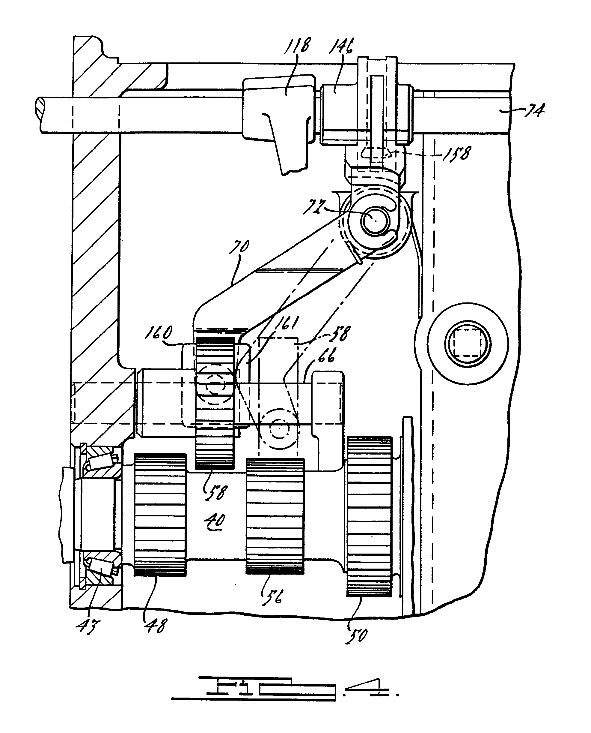 Ford Automatic Transmission Drawing