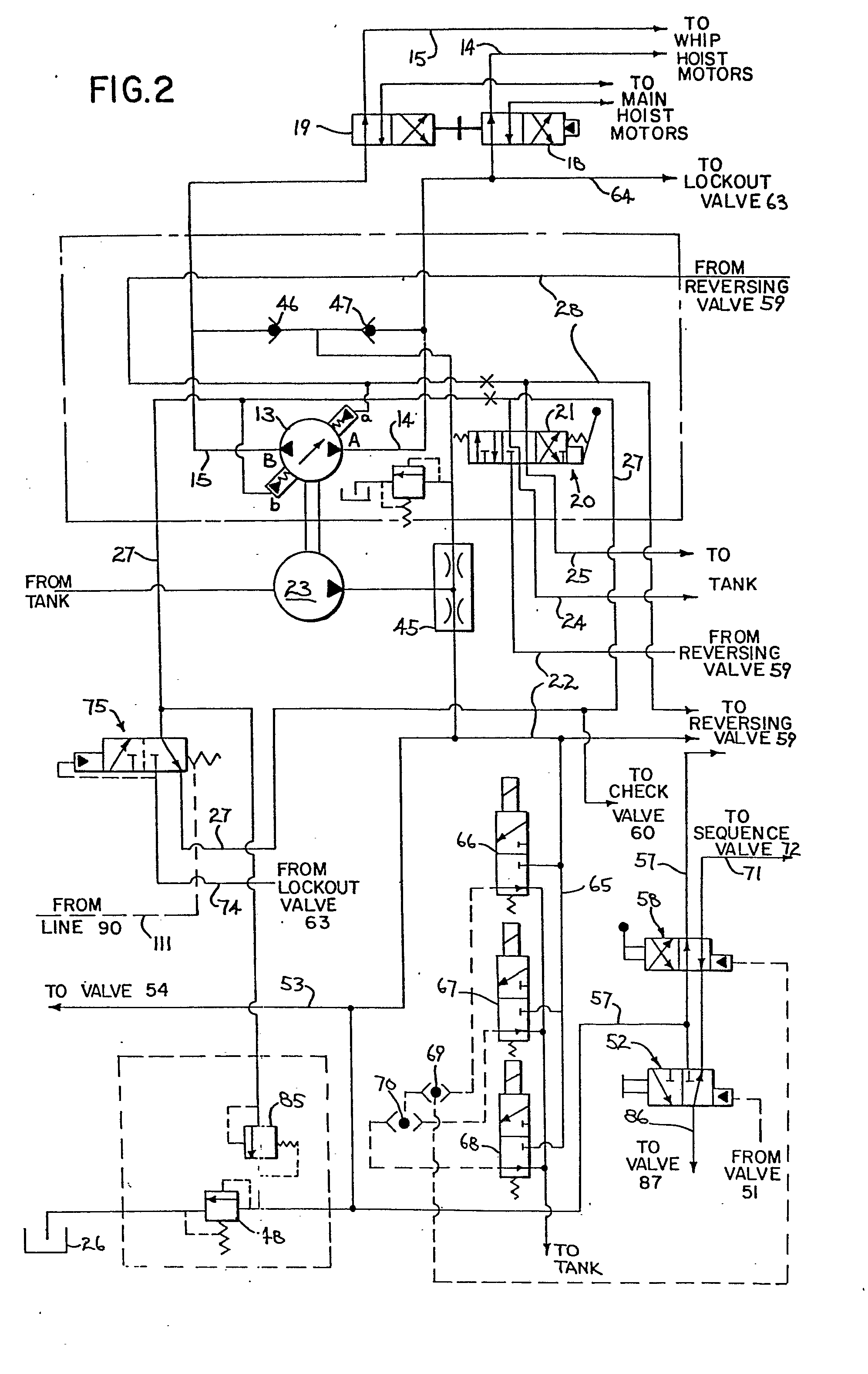 Solenoid Operated Directional Control Valve Schematic