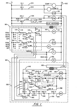 Patent EP0080838A1  Air conditioning economizer control