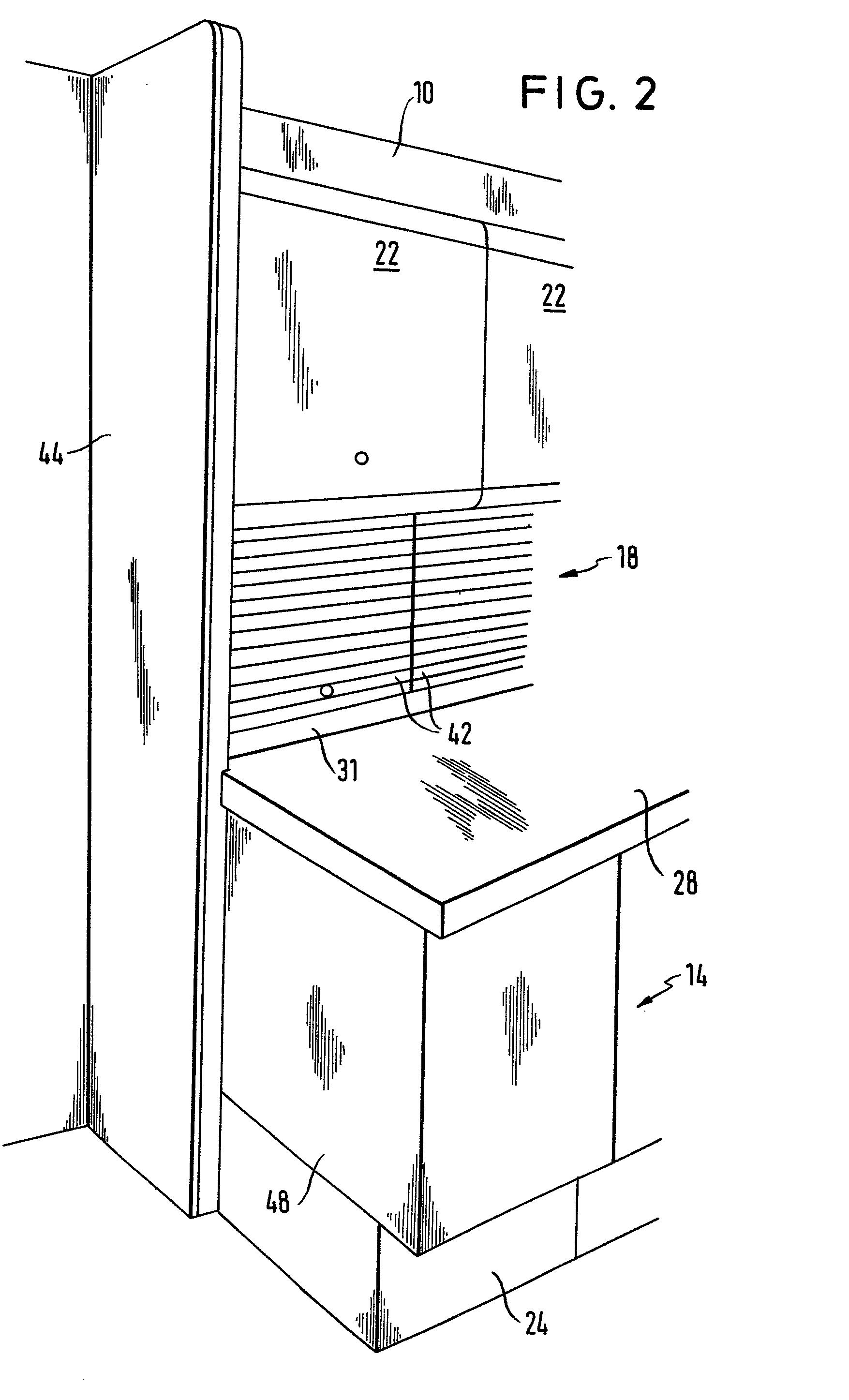 Patent EP0084586A1  AnbauKchenschrank  Google Patents