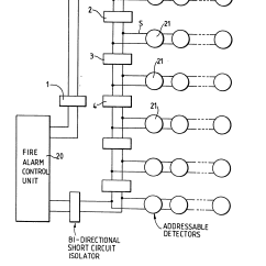 Zeta Addressable Fire Alarm Wiring Diagram Ducane Oil Furnace Patent Ep0101172a1 Short Circuit Fault Isolation Means